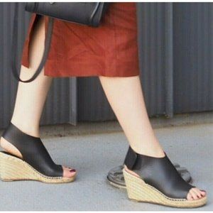 Celine Paris Espadrilles Wedge Sandals MSRP $857